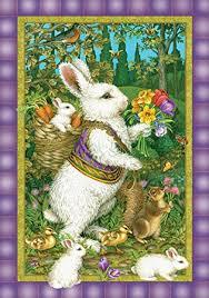 classic rabbit toland home garden classic bunny 12 5 x 18 inch