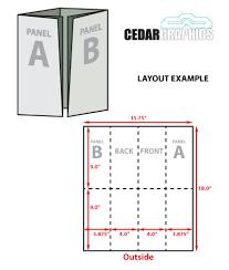 4 panel brochure template z fold brochure template indesign 4 panel brochure template