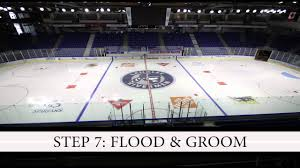 hockey rink time lapse youtube