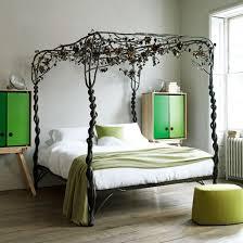 Metal Vintage Bed Frame Vintage Botanical Bedroom Metal Bed Frame Bedroom Decorating