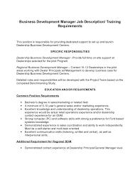 Sample Resume For Business Development Manager by Development Director Job Description International Hr Director