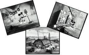 Mickey Mouse Barn Mickey Mouse Follies Black And White The Barnyard Broadcast