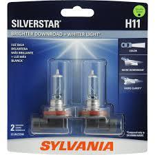 nissan rogue headlight bulb replacement amazon com sylvania h11 silverstar high performance halogen