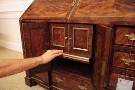 brass key secretary desk antique mahogany secretary desk with rosewood