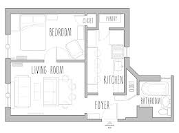 1000 square foot cottage floor plans adhome uncategorized small square footage house plan wonderful with