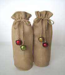 wine gift bag christmas wine bags burlap wine bottle bag wine gift