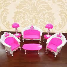 canap bureau 1 set accessoires de poupée poupées meubles canapé canapé