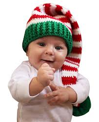 amazon com melondipity christmas elf crochet baby hat red amazon com melondipity christmas elf crochet baby hat red white green beanie stocking cap infant and toddler hats clothing
