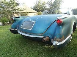 for restoration for sale chevrolet corvette corvette 1954 corvette c 1 project needs