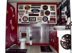 flickr find amanda and josh u0027s quirky powder room garage