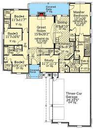 home plans homepw76422 2 454 square feet 4 bedroom 3 32 best house plans under 2500 sq ft images on pinterest