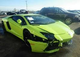 used lamborghini aventador price export salvage 2014 lamborghini aventador awd green on black