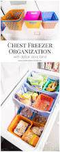 our chest freezer organization system chest freezer organization