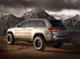 charcoal jeep grand cherokee black rims xplore jeep grand cherokee ready for the wilderness autoevolution