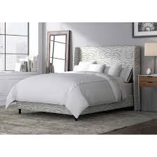 marilyn upholstered king bed