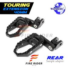 for triumph speed triple t509 97 98 40mm riser cnc touring rear