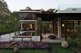 courtyard house by hiren patel architects caandesign