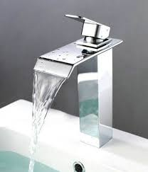 Bathroom Vessel Sink Faucets by Straight Square Style Bathroom Vessel Sink Faucet Kokols