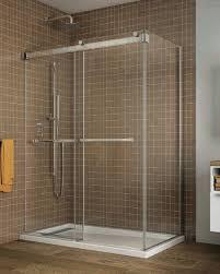 Schicker Shower Doors Gemini Bypass 2 Sided Shower Slider Schicker Luxury Shower Doors