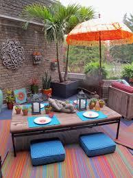 Indoor Outdoor Rugs Amazon by Fab Habitat Intérieur Tapis Extérieur Cancun Multicolore 90cm