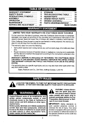 craftsman 8 5 hp snow blower manual documents