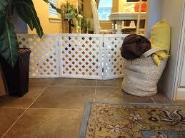 pet room ideas white folding portable divider pet gate to make pet room ideas
