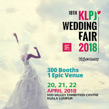 Wedding Gift Kl Kl Wedding Expo 2011 18th Klpj Wedding Fair 2018 April 2018
