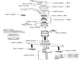 moen kitchen faucet leak repair moen 7600 kitchen faucet repair diagram insightlighting club