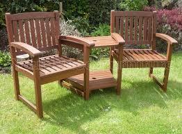 Patio Furniture Sets Uk - henley hardwood garden bench companion set love seat great outdoor