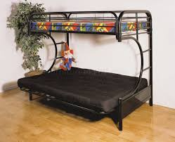 C Bunk Bed Finish C Style Contemporary Futon Bunk Bed