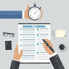 employment on competitive basis filling resume writing tests