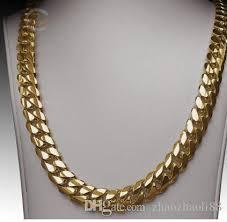 curb link necklace images Shop chains online 14k gold miami men 39 s cuban curb link chain jpg