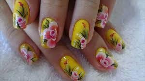 nails without nail art tool youtube