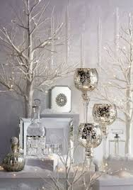 my white and silver decoration home white home
