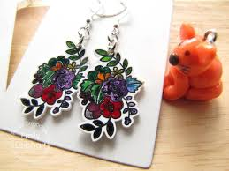 crafts for kids shrink film earrings and charms youtube
