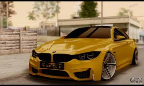 stanced bmw m4 bmw m4 for gta san andreas