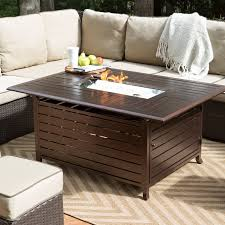 alderbrook faux wood fire table fire pit set clearance wood burning table sam s club alderbrook faux