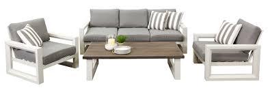 Savannah  Seat Sofa Set Outdoor Lounge Segals Outdoor - Patio furniture sofa sets