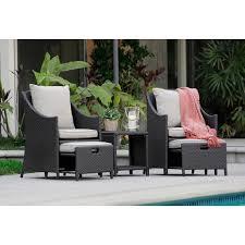 rolston wicker patio furniture serta laguna wicker patio sofa hayneedle