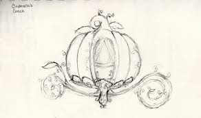 cinderella s coach cinderella s coach pencil sketch of something i d like to