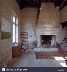 large stone fireplaces stonefireplacehearthideas large stone large stone fireplaces large stone fireplace in country living room with stone walls home designing inspiration