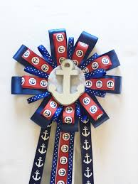baby shower anchor theme nautical to be corsage anchor theme baby shower to be