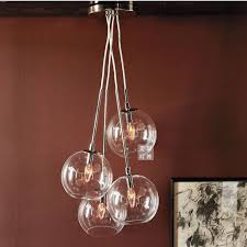 Ball Chandelier Lights Glass Ball Red Chandelier Editonline Us