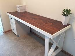 Diy Computer Desk Plans Office Desk Corner Desk Glass Desk Diy L Desk Computer Desk