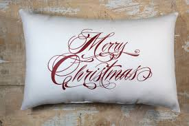Decorative Christmas Pillows by Christmas Pillow Merry Christmas Christmas Decor Holiday Decor