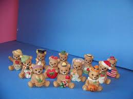 Home Interior Bears Homco Playtime Figurine 1417 Home Interiors Home Bears And