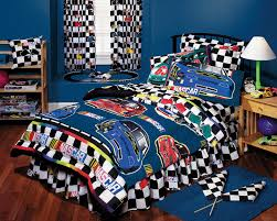 Twin Size Bed In A Bag Nascar Boys Bedding Nascar Checkered Flag Bed In A Bag Twin