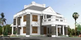 colonial luxury house plans arkitecture studio architects interior designers calicut kerala