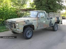 Classic Ford Diesel Truck - 1987 m1008 cucv truck chevy 1 ton 6 2 diesel 4x4 1 lgw cucv