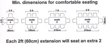 Standard Conference Table Dimensions Table Ie Your Table The Way You Want It Sizes Standards